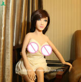 Jl 125 cm Minimädchen mit grosse Brust-lebensechter Silikon-Geschlechts-Puppe für Männer