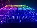 Gute Lichteffekt RGB-mischende Farben-LED beleuchtete Fußboden-Fliesen auf Verkauf