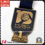 Medalla Chapado de fábrica de ventas de aleación de zinc antiguo con el logotipo personalizado