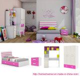 普及した現代子供の家具の多彩な木の寝室の家具(ニュートン)