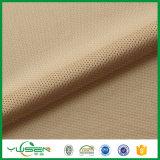 La tela de acoplamiento, hace punto la tela polivinílica para la alineación de la ropa