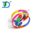 Wristbands in bianco del silicone di colori Mixed, braccialetti di gomma