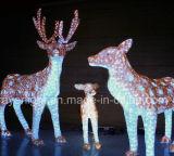 LED 3D Christmas Deer, lumière pour la décoration