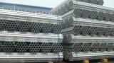 Tubulação de aço Pre-Galvanizada redonda de carbono para materiais de construção