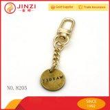 Kundenspezifische kleine MetallKeychain Marken mit Schlüsselketten-Verschluss-Haken
