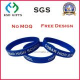 Wristband di gomma personalizzato modo impresso della stampa