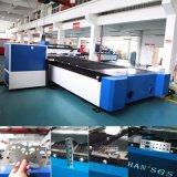 Ökonomische Faser-Laser-Ausschnitt-Maschine des Gefäß-1000W für Metallblatt