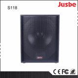 "S118 650W 직업적인 사운드 시스템 18 "" Subwoofer"