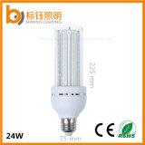 Tipo lampada dell'indicatore luminoso di soffitto di AC85-265V E27 24W U della lampadina del cereale 4u del tubo SMD 2835