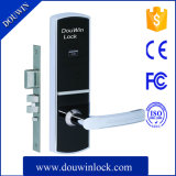 安いホテルの電子機密保護のドアハンドルロック