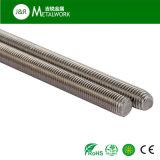Штанга резьбы штанги резьбы нержавеющей стали Ss304 Ss316 (DIN975)