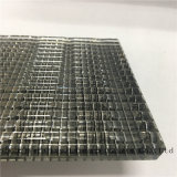 Gafa de seguridad/del vidrio/del vidrio laminado/emparedado vidrio impreso seda con las sedas de plata negras