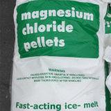 백색 마그네슘 염화물 진주 또는 Prill 또는 펠릿은 를 위한 얼음 녹는다
