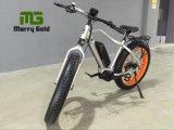 Bici eléctrica gorda del neumático En15194 del motor 250W de Bafang del mecanismo impulsor de la montaña de la playa MEDIADOS DE