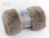 Manta larga brillante del paño grueso y suave de Sytle picovoltio del pelo de la felpa