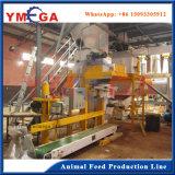 Производственная линия машины лепешки животного питания завода Турции