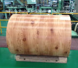 Diseño de madera de la venta caliente popular con la bobina de acero del espesor PPGI/PPGL de 0.13-1.2m m