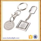 La moneta su ordinazione Keychain della bandierina di alta qualità con il marchio ha inciso