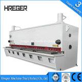 China Folha de máquina de corte de metal, placa hidráulica máquina de corte