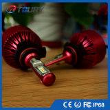 Bulbo aprovado do farol do diodo emissor de luz H7 do Ce 25W H4 9006 auto