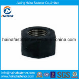 Noce pesante Hex nera del grado di ossidazione 8.8 di ASTM A194 B8