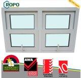 Singola doppia finestra appesa del PVC con lo schermo della mosca