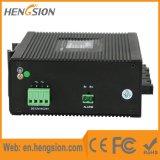 4개의 이더네트와 4 섬유 포트 19.6gbps 산업 통신망 스위치