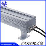 Luces al aire libre de la colada de la pared del RGB 36W 48W LED del poder más elevado de la luz de la pared de IP65 DMX512 LED