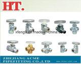 Ajustage de précision de pipe en laiton de connecteur de picot de boyau (1/8*1/8)