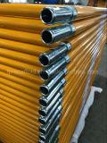 فولاذ أصفر يدهن إطار سقالة يشكّل مشية كلّيّا