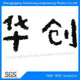 Gránulos de Polyamide66 el PA66-GF25% para la materia prima