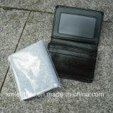 Держатель/бумажники пасспорта PU новой черноты конструкции кожаный