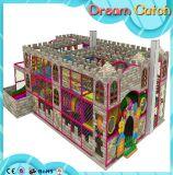De binnen Verkoop van de Leverancier van de Speelplaats met de Binnen Zachte Zakken van pvc van de Speelplaats van de Kinderen van de Dia Zachte