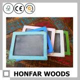 Frame de madeira vermelho moderno da foto do retrato para a decoração Home