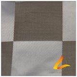 agua de 50d 310t y de la manera de la chaqueta tela especial tejida chaqueta Viento-Resistente 100% del filamento del hilado del poliester del telar jacquar de la tela escocesa abajo (X059)