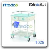 Chaud ! ! Chariot médical à traitement de chariot de krach de soins d'hôpital