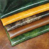 Muebles de la alta calidad de la tapicería en relieve Materiales de microfibra