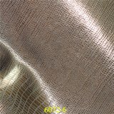 Cuir métallique brillant d'accessoires de mode de modèle populaire matériel synthétique d'unité centrale