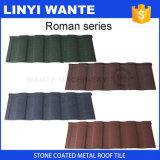 軽量および強く多彩な石の上塗を施してある金属の屋根瓦