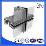 Perfil de alumínio do alumínio da divisória do painel/escritório de parede interior