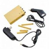 Handheld 4 Jammer сигнала мобильного телефона GPS 3G антенн 3W