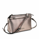 Shining Snake Grain Lady Crossbody Bag (MBNO040100)