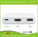 Тип USB 3.1 c к переходнике эпицентра деятельности HDMI+USB 3.0+Type c