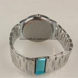 Relojes promocionales de la pulsera del acero inoxidable del reloj del regalo para los hombres