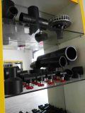 非妨害の四方HDPEの同輩の十字110~400mm、DIN/ISOはパイプ継ぎ手のために最もよい付属品を修飾した