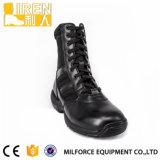 Het Leer van de Koe van de Prijs van ISO Standerd Actory/de Nylon Zwarte Militaire Tactische Laarzen van het Leger