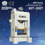 Feuille en aluminium poinçonnant la presse à grande vitesse d'Apk-160ton