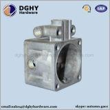 La lega di alluminio le parti della pressofusione con rivestimento anodizzato il nero