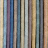 Boa solidez da cor Abasion-Resistant PU de couro sintético para sapatos fazendo
