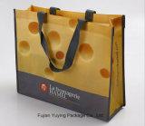 カスタムサイズの非編まれた薄板にされたショッピング・バッグ、